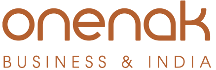Onenak Business and India Logo retina