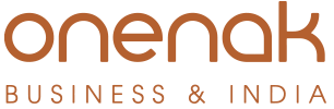 Onenak Business and India Logo fijo retina